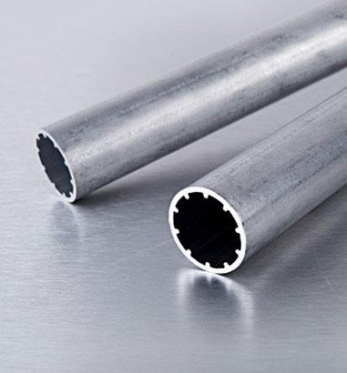 Flat tube